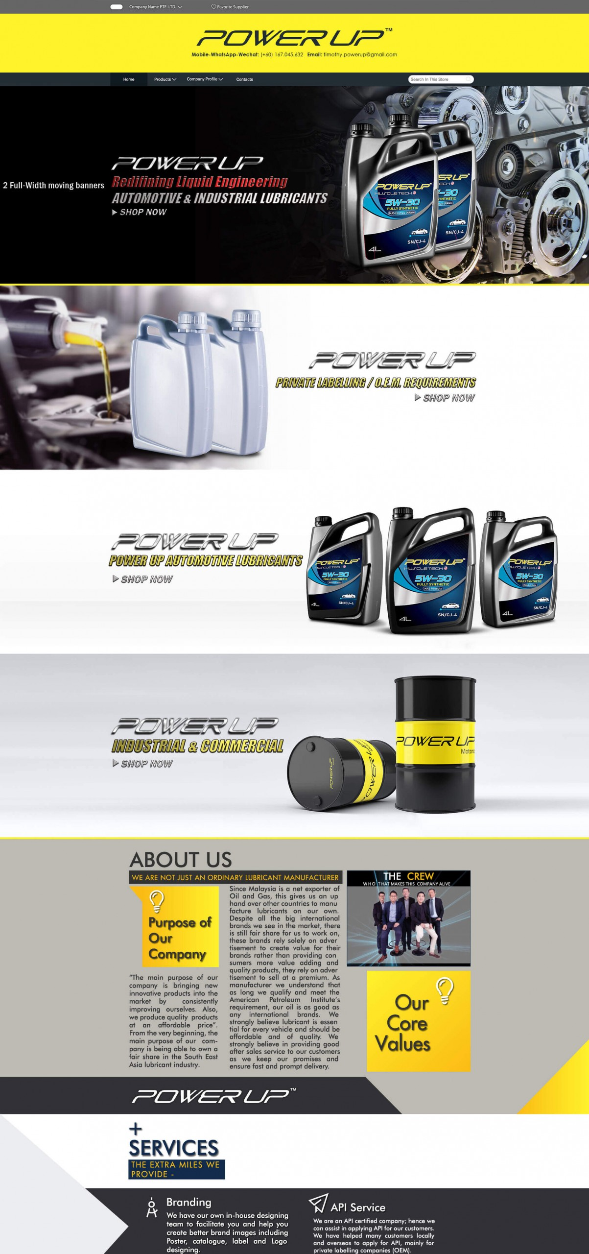 Power Excel Lubricants Sdn Bhd