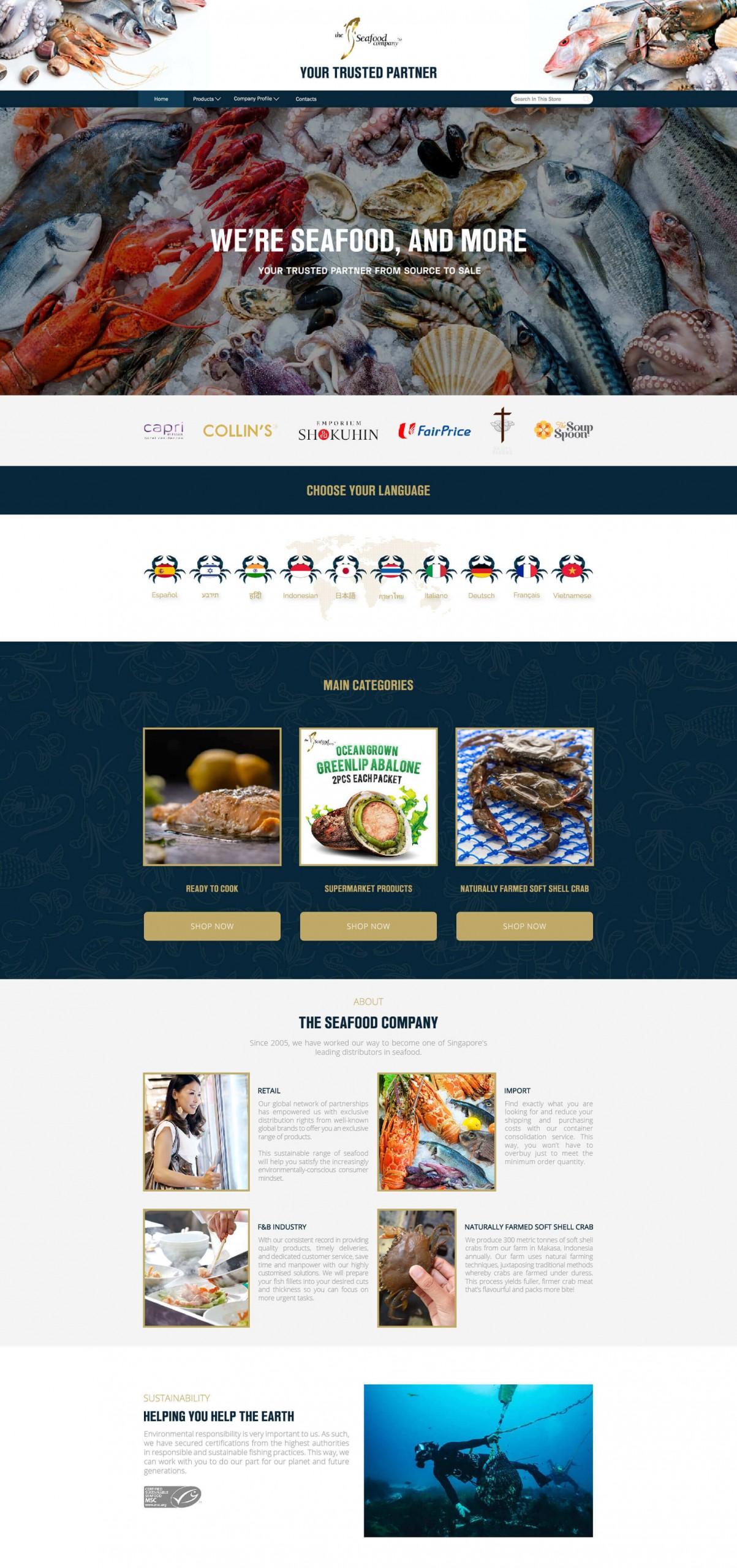 The Seafood Company PTE LTD