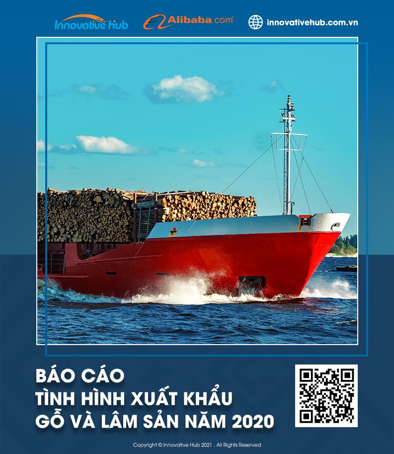 báo cáo xuất khẩu gỗ và lâm sản 2020